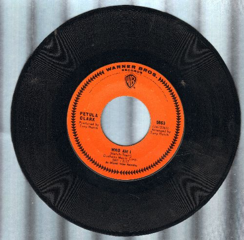 Clark, Petula - Who Am I/Love Is A Long Journey - NM9/ - 45 rpm Records