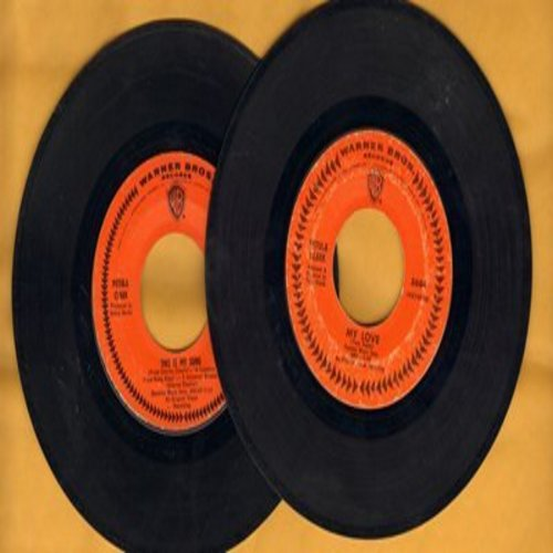 Clark, Petula - 2 for 1 Special: My Love/This Is My Song (2 original first issue 45rpm records for the price of 1!) - EX8/ - 45 rpm Records
