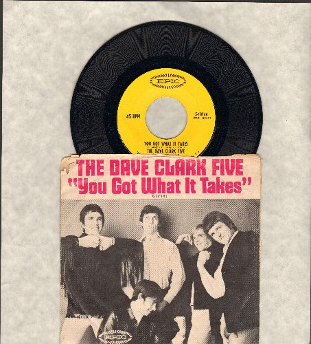 Clark, Dave Five - You Got What It Takes/Doctor Rhythm (with picture sleeve, sos) - NM9/VG6 - 45 rpm Records
