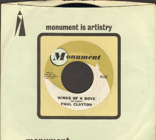 Clayton, Paul - Wings Of A Dove/The Convent At Ronda (with Motown company sleeve) - EX8/ - 45 rpm Records