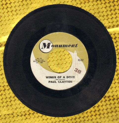 Clayton, Paul - Wings Of A Dove/The Convent At Ronda  - VG7/ - 45 rpm Records