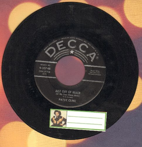Cline, Patsy - Just Out Of Reach (Of My Two Open Arms)/If I Could See The World (Through The Eyes Of A Child  - VG6/ - 45 rpm Records