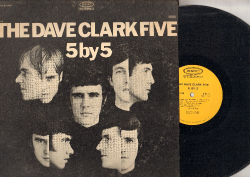 Clark, Dave Five - 5 By 5: Nineteen Days, Bernadette, Pick Up Your Phone, You Don't Want My Loving, Sitting Here Baby (Vinyl STEREO LP record) - EX8/VG7 - LP Records