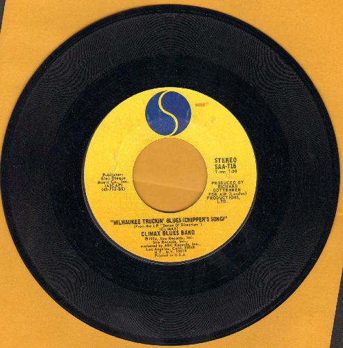 Climax Blues Band - Reaching Out/Milwaukee Truckin' Blues (Chipper's Song) - NM9/ - 45 rpm Records