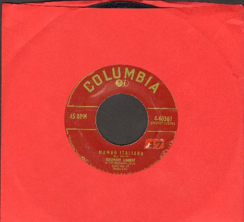 Clooney, Rosemary - Mambo Italiano/We'll Be Together Again  - VG7/ - 45 rpm Records