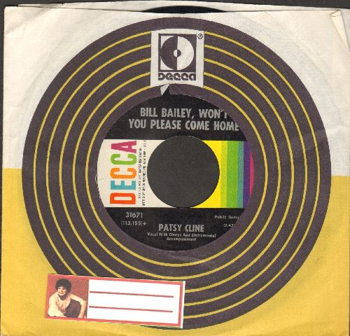 Cline, Patsy - Bill Bailey, Won't You Please Come Home/He Called Me Baby (with cintage Decca company sleeve) - NM9/ - 45 rpm Records