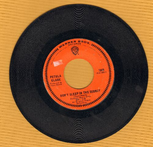 Clark, Petula - Don't Sleep In The Subway/Here Comes The Morning - EX8/ - 45 rpm Records