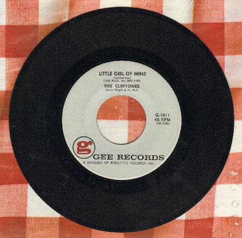 Cleftones - Little Girl Of Mine/You're Driving Me Mad  - EX8/ - 45 rpm Records