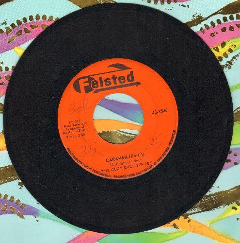 Cole, Cozy Septet - Caravan (Parts 1 + 2) - EX8/ - 45 rpm Records