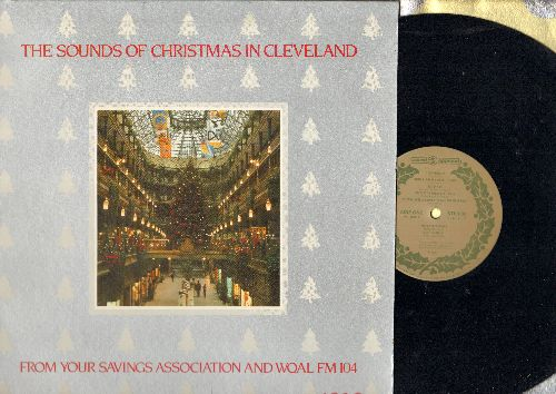 WQAL FM 104 - The Sounds Of Christmas In Cleveland - From Your Savings Association And WQAL FM 104, a special recording to benefit The Rainbow Babies & Childrens Hospital (vinyl LP record) - NM9/EX8 - LP Records