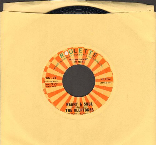 Cleftones - Heart & Soul/Ding-Dong (by The Echoes on flip-side) - NM9/ - 45 rpm Records