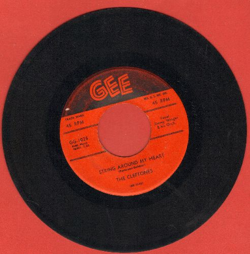 Cleftones - Happy Memories/String Around My Heart (red label first issue) - VG6/ - 45 rpm Records
