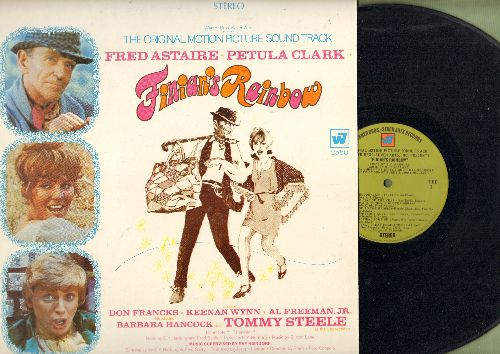 Clark, Petula, Fred Astaire, Tommy Steele - Finian's Rainbow - Original Motion Picture Sound Track, includes songs Look To The Rainbow, Old Devil Moon and How Are Things In Glocca Morra? (Vinyl STEREO LP record) - EX8/EX8 - LP Records
