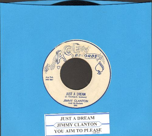 Clanton, Jimmy - Just A Dream/You Aim To Please - VG7/ - 45 rpm Records