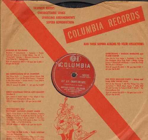 Clooney, Rosemary - Ay Ay (Who's The Guy)/A Bunch Of Bananas (10 inch 78rpm record with Columbia company sleeve) - VG6/ - 78 rpm