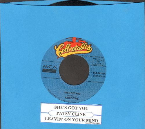 Cline, Patsy - She's Got You/Leavin' On Your Mind (double-hit re-issue with juke box label) - NM9/ - 45 rpm Records