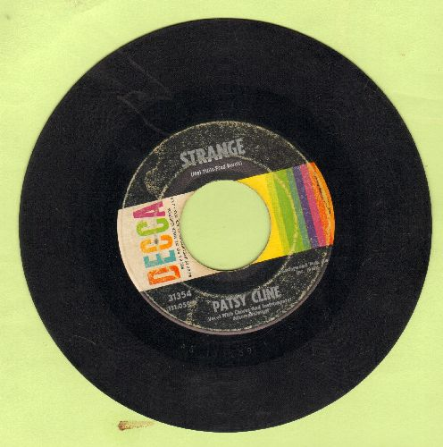 Cline, Patsy - Strange/She's Got You  - VG6/ - 45 rpm Records