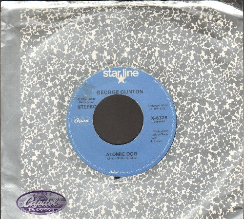 Clinton, George - Atomic Dog 4:42 minutes)/Loopzilla (double-hit re-issue with Capitol company sleeve) - EX8/ - 45 rpm Records