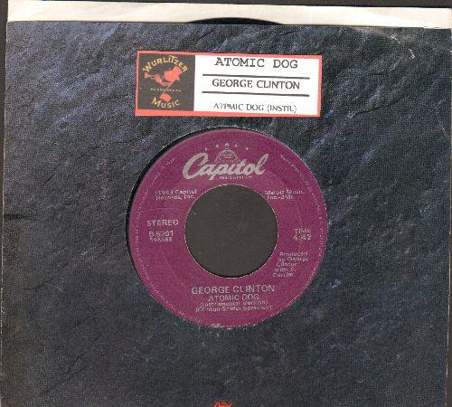 Clinton, George - Atomic Dog/Atomic Dog (Instrumental) (with juke box label) - NM9/ - 45 rpm Records