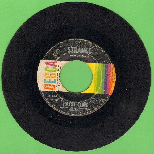 Cline, Patsy - Strange/She's Got You  - G5/ - 45 rpm Records