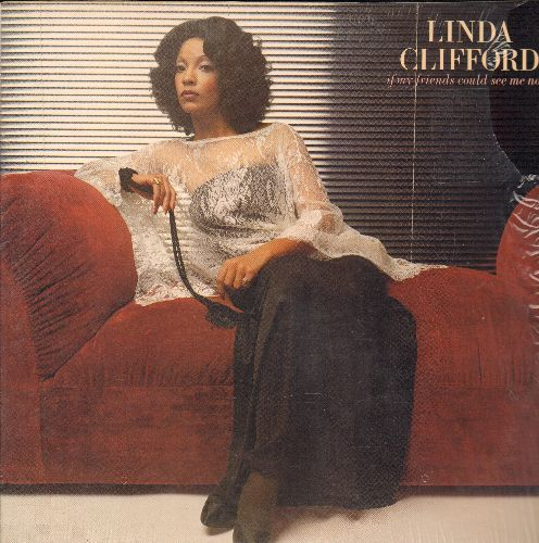 Clifford, Linda - If My Friends Could See Me Now: Gypsy Lady, Runaway Love, You Are You Are, I Feel Like Falling In Love Again (vinyl LP record featuring extended dance versions, NICE condition, shrink wrap) - M10/NM9 - LP Records