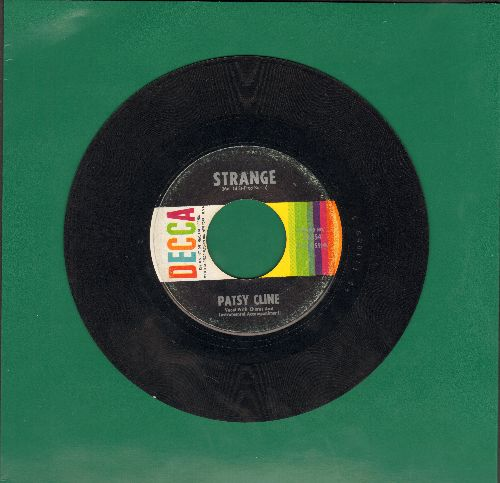 Cline, Patsy - Strange/She's Got You - VG7/ - 45 rpm Records