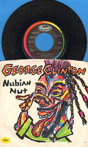 Clinton, George - Nubian Nut/Free Alterations (with picture sleeve) - EX8/EX8 - 45 rpm Records