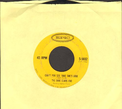 Clark, Dave Five - Can't You See She's Mine/No Time To Lose - VG6/ - 45 rpm Records