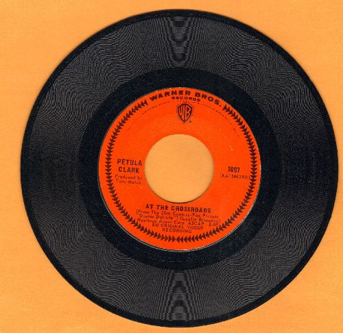 Clark, Petula - At The Crossroads/The Other Man's Grass Is Always Greener - NM9/ - 45 rpm Records