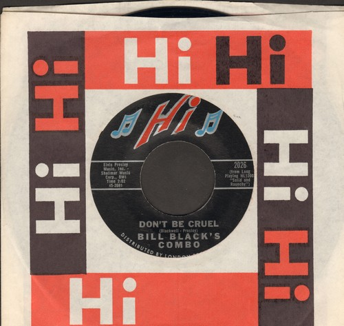 Black, Bill Combo - Don't Be Cruel/Rollin' - NM9/ - 45 rpm Records