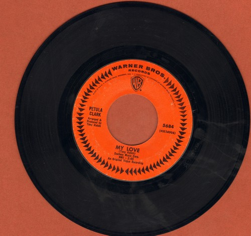 Clark, Petula - My Love/Where Am I Going  - EX8/ - 45 rpm Records