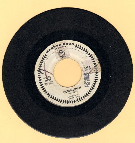 Clark, Petula - Downtown (Petula Clark's Signature Song!)/You'd Better Love Me (DJ advance pressing) - VG7/ - 45 rpm Records
