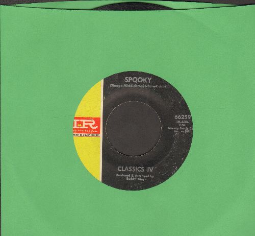 Classics IV - Spooky/Poor People - VG7/ - 45 rpm Records