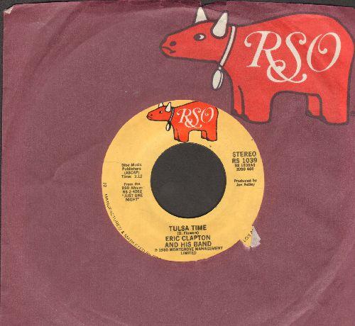 Clapton, Eric - Tulsa Time/Cocaine (with RSO company sleeve) - EX8/ - 45 rpm Records