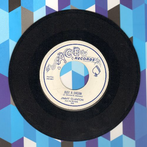 Clanton, Jimmy - Just A Dream/You Aim To Please (NICE condition!) - NM9/ - 45 rpm Records