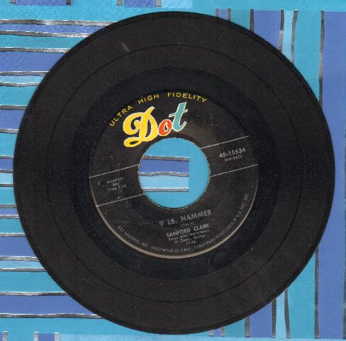 Clark, Sanford - 9 Lb. Hammer/Ooo Baby  - VG7/ - 45 rpm Records