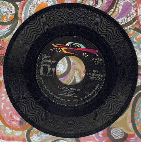 Clovers - Love Potion No. 9/Stay Awhile (1970s reissue) - EX8/ - 45 rpm Records