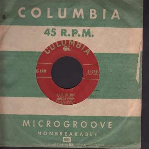 Clooney, Rosemary - Man (Uh-Huh0/Woman (Uh-Huh) (with vintage Columbia company sleeve) - EX8/ - 45 rpm Records
