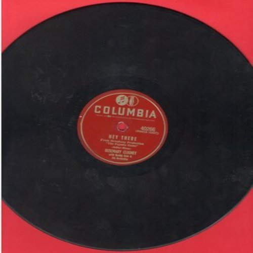 Clooney, Rosemary - Hey There/This Ole House (10 inch 78rpm record) - VG7/ - 78 rpm
