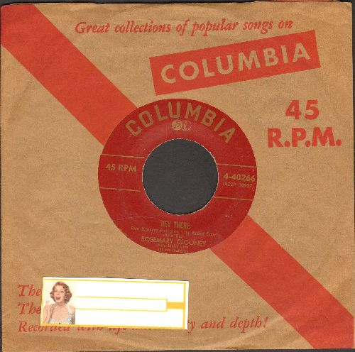 Clooney, Rosemary - Hey There/This Ole House - EX8/ - 45 rpm Records