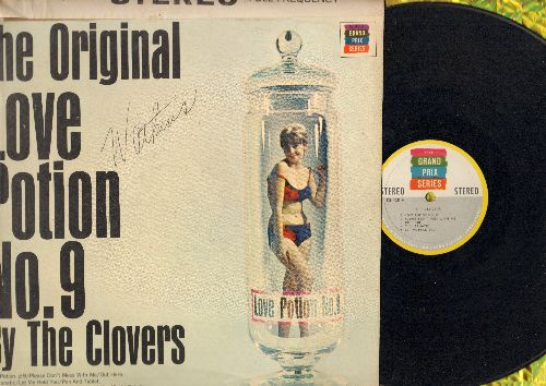 Clovers - The Original Love Potion No. 9: Please Don't Mess With Me, T.V. Fanatic, They're Rockin', Let Me Hold You (Vinyl STEREO LP record) - EX8/VG7 - LP Records
