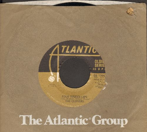 Clovers - Your Tender Lips/Since I Met You Baby (by Ivory Joe Hunter on flip-side) (re-issue) - VG7/ - 45 rpm Records