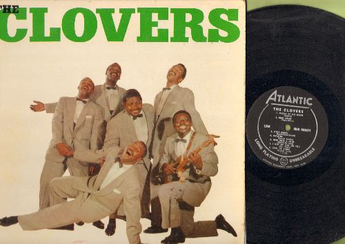 Clovers - The Clovers: Lovey Dovey, Blue Velvet, Devil Or Angel, Love Love Love (vinyl MONO LP record, RARE first pressing) - EX8/EX8 - LP Records