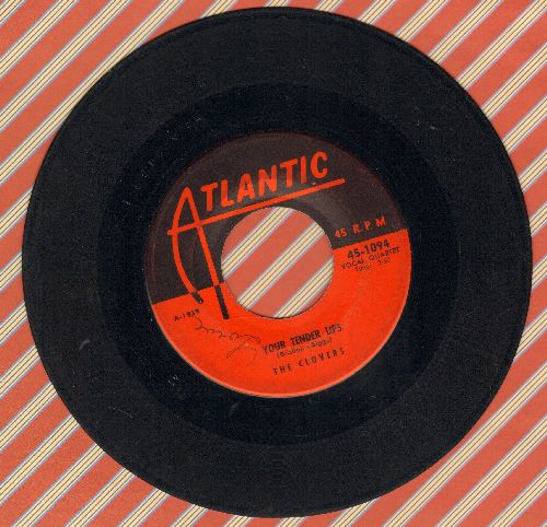 Clovers - Your Tender Lips (ULTRA-DREAMY Doo-Wop Ballad!)/Love, Love, Love  - VG7/ - 45 rpm Records
