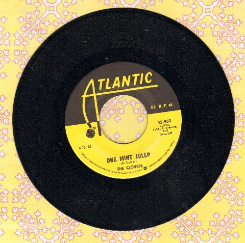 Clovers - One Mint Julip/Middle Of The Night (yellow label double-hit re-issue) - NM9/ - 45 rpm Records
