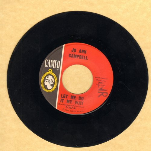 Campbell, Jo Ann - Let Me Do It My Way/Mr. Fix-It Man  - EX8/ - 45 rpm Records
