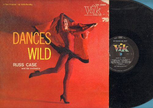 Case, Russ & His Orchestra - Dances Wild: Sabre Dance, Dance Of The Sugar-Plum Fairy, The Dagger Dance, Danse Macabre (vinyl MONO LP record, 1957 first pressing) - EX8/EX8 - LP Records