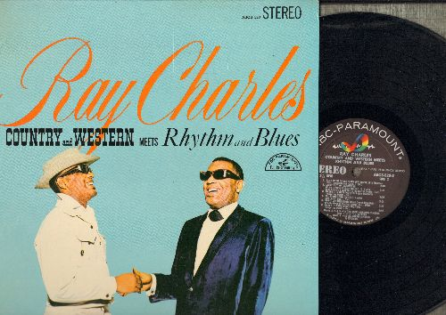 Charles, Ray - Country And Western Meets Rhythm And Blues: Together Again, Next Door To The Blues, Blue Moon Of Kentucky (vinyl STEREO LP record) - NM9/NM9 - LP Records