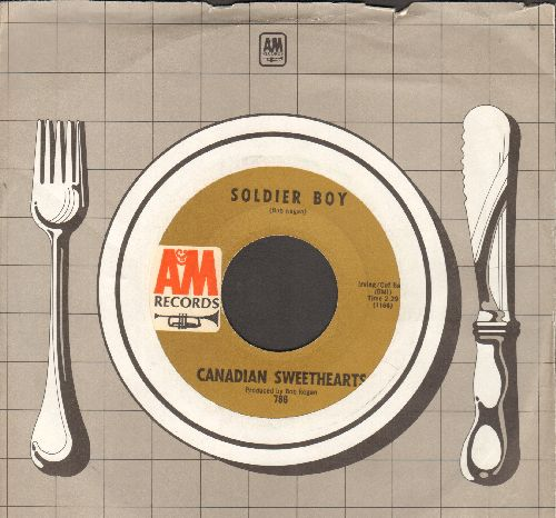 Canadian Sweethearts - Soldier Boy/Haunting Me (with A&M company sleeve)( - NM9/ - 45 rpm Records
