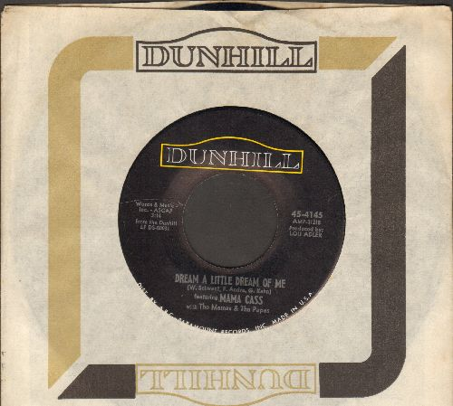 Mama Cass - Dream A Little Dream Of Me/Midnight Voyage (with Dunhill company sleeve) - EX8/ - 45 rpm Records